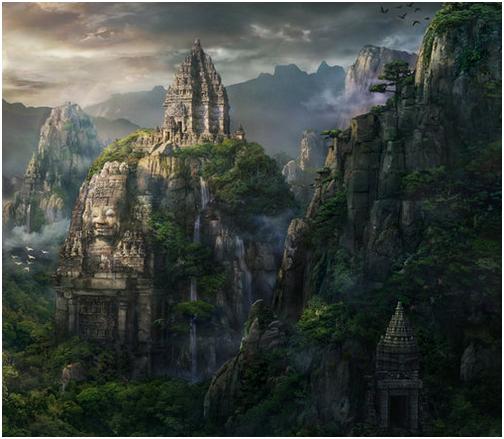Les territoires et hauts lieux de l'empire Miyong 459643TempleMiyong1