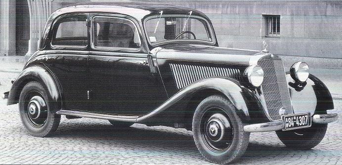 Mercedes 170 et 220. La renaissance 460024170V