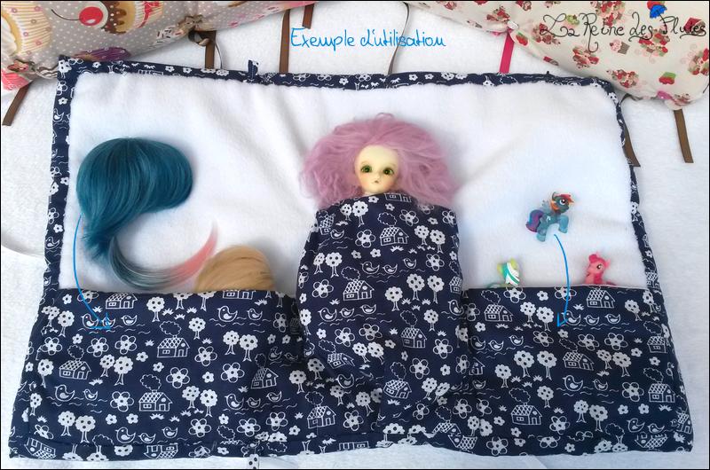 La Reine des Pluies: Carrosses pour dolls:tissus little doll 461460exemple