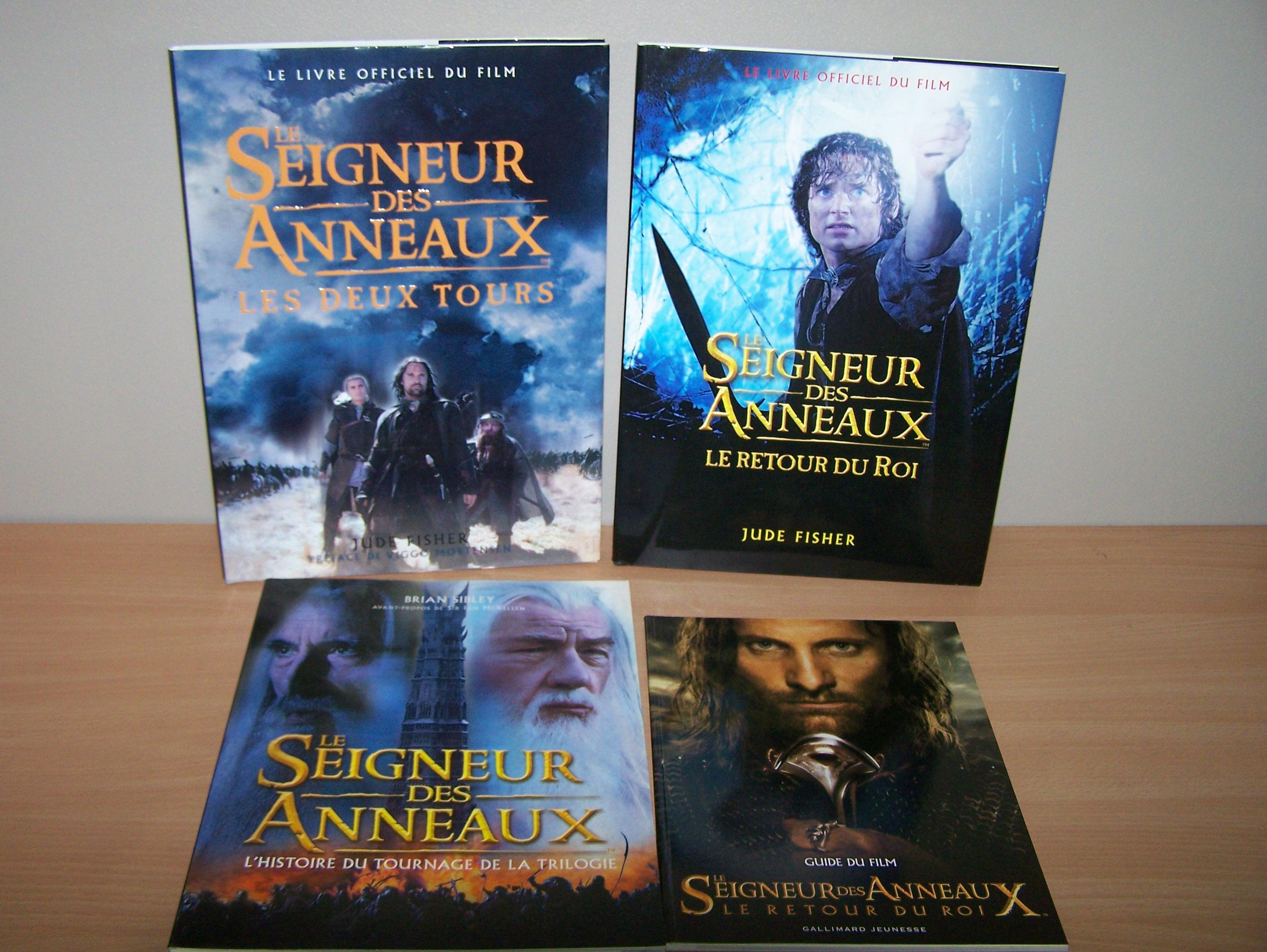 Le Seigneur des Anneaux / The Hobbit #3 462512MaCollectionSeigneurdesAnneaux08