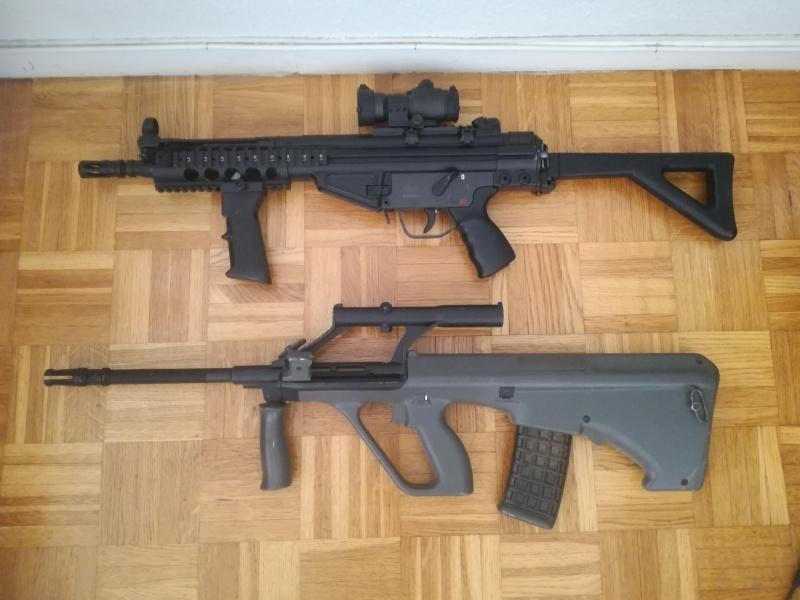 M4, Steyr Aug, AKSU, M23 Pioneer et accessoires 464610IMG20170702141640