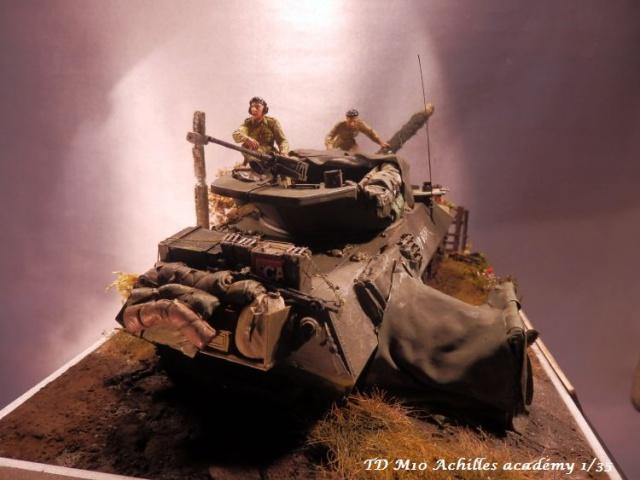 dio un achilles en Normandie terminé académy 1/35,figurines miniart 464978PA070004