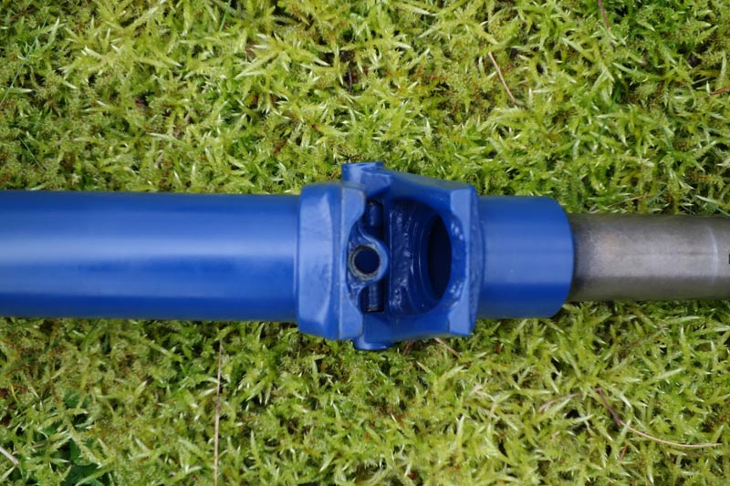 [VENDU] - Tube de direction - potence modèle H en bleu cobalt mat  465037DSC00694800
