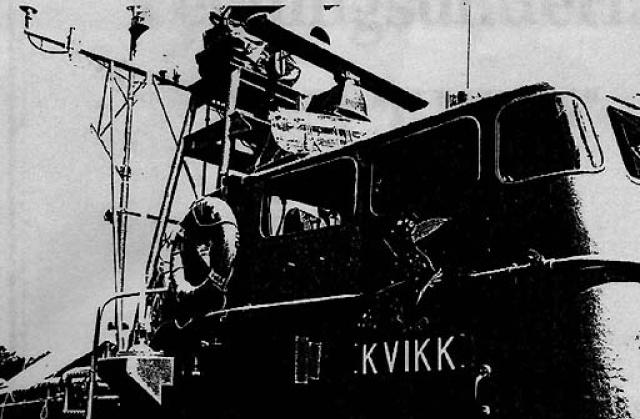 construction du KVIKK, navire patrouilleur lance torpille de la classe SNOGG 467366tim11