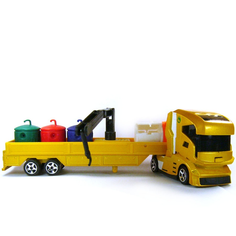N°604A Camion futuriste + containers recyclage 472229725