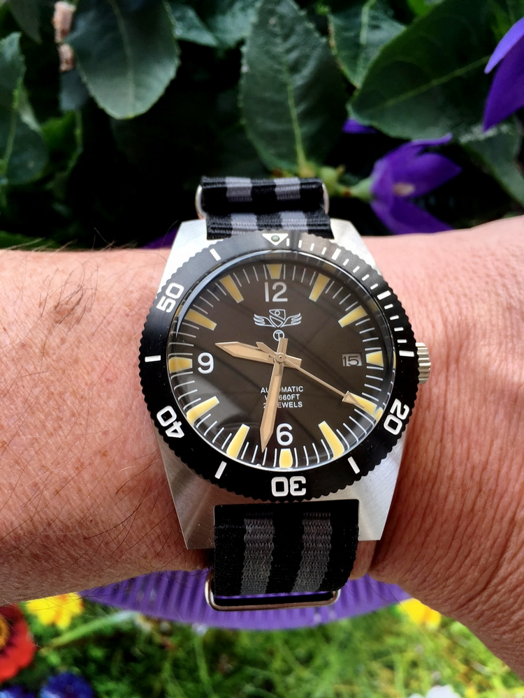 military - Military Industries 1970s diver's watch 473839371