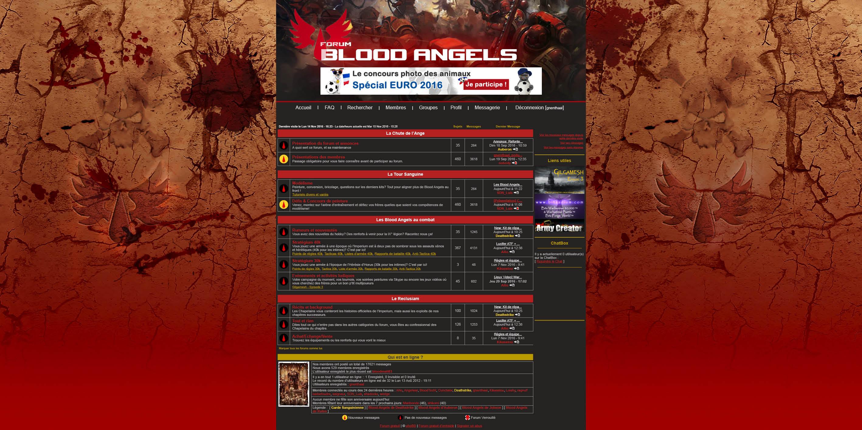 Annonce: Refonte du forum 475313forumBAindex