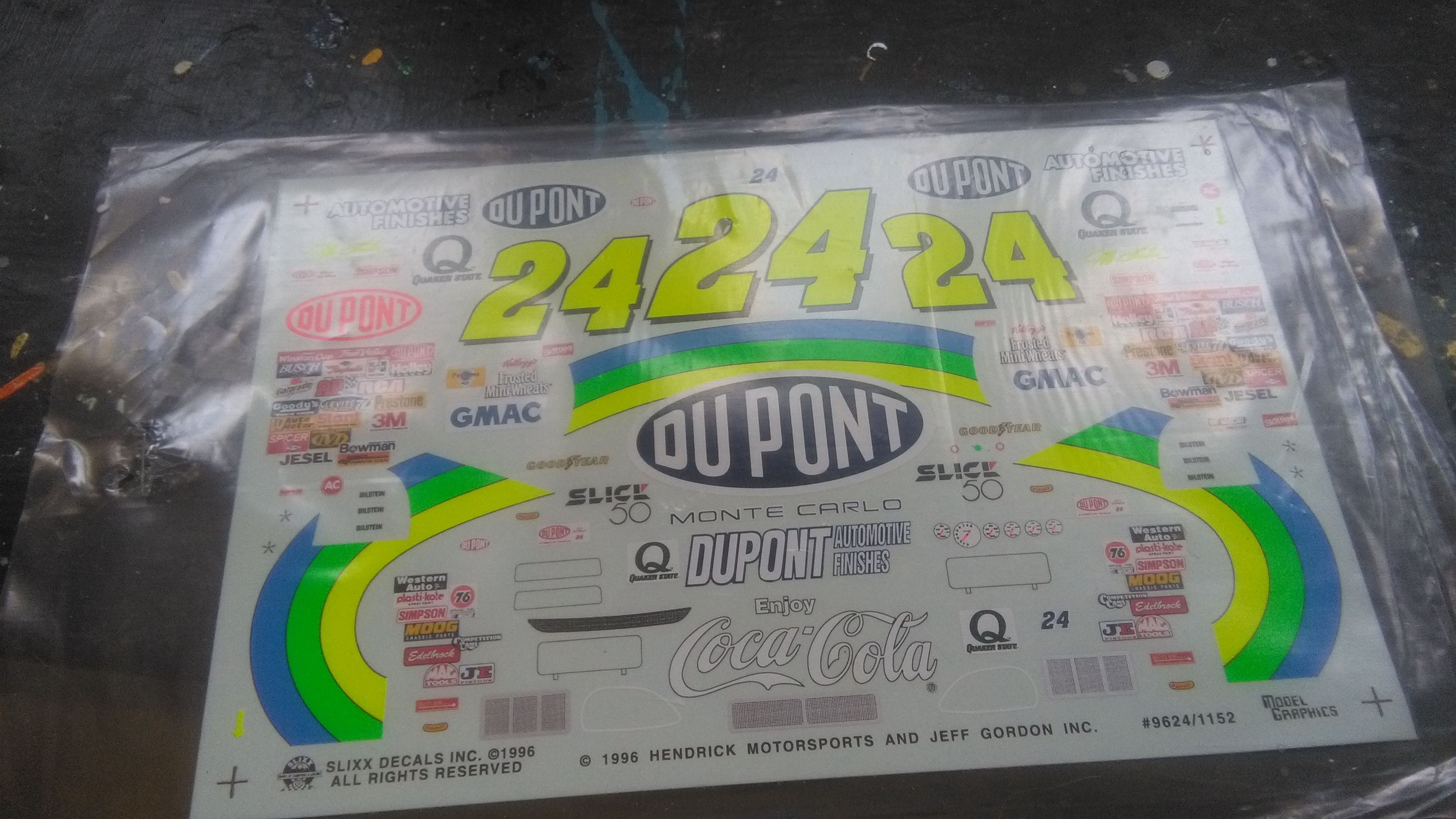 Chevy Monte-Carlo 1996 #24 Jeff Gordon Dupont Dover wins  477968IMG20170512130833