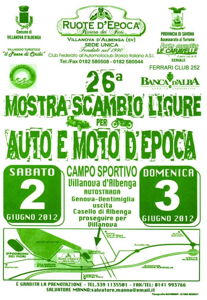 Bourse Villanova d'Albenga - 2/3 Juin 2012 479602TRE366