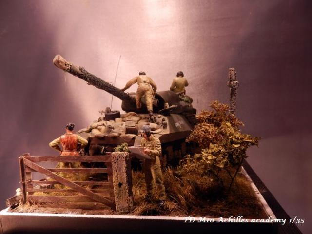 dio un achilles en Normandie terminé académy 1/35,figurines miniart 480574PA070008