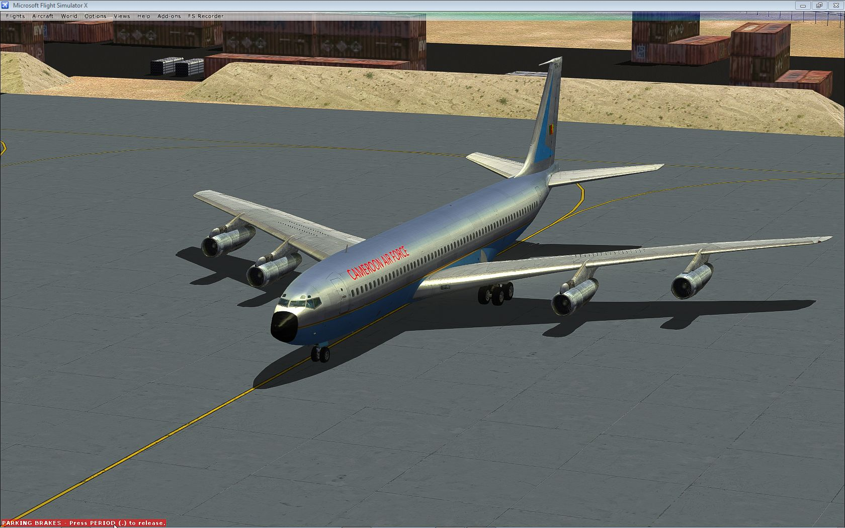 """Cameroonising Heavily"" Flight Simulator for a while now... 482431pref22"