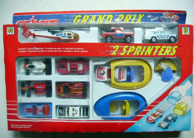 Lanceur de voiture Majorette Sprinter 484694majorette