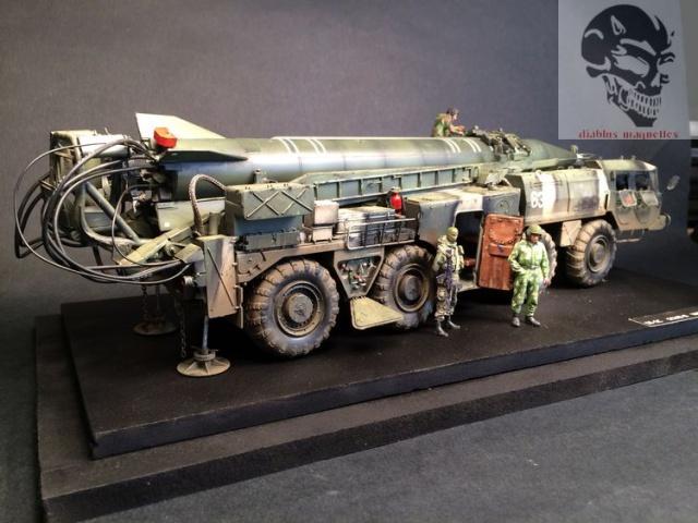 SS-1C   Scud-B  avec un Maz 543 TEL (maquette dragon 1/35) 487155IMG4470