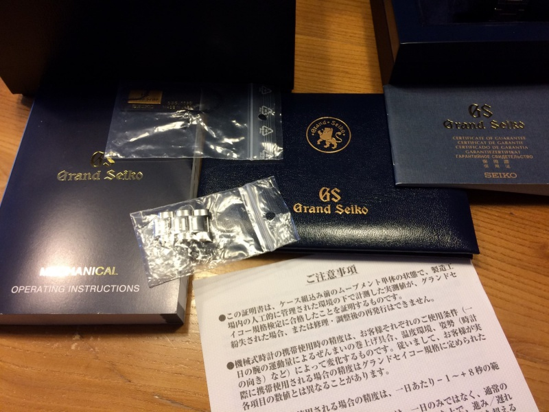 Grand Seiko SBGJ003 (Hi-Beat GMT) - 4300€ 487190Image2