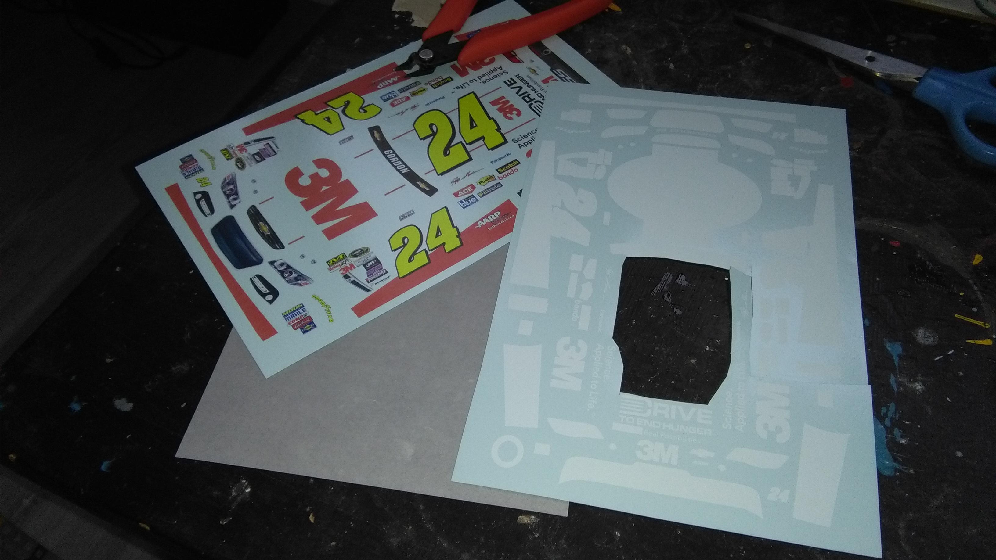Chevrolet SS 2015 #24 Jeff Gordon 3M 488244IMG20170319172533