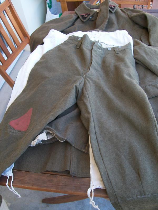Le matériel et l'uniforme des prisonniers de guerre 4883661002149
