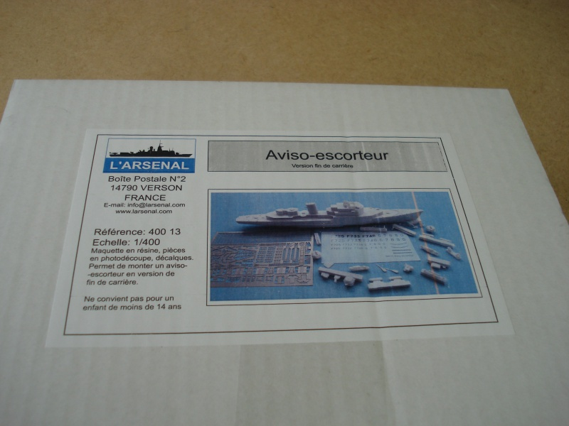 "Aviso Escorteur ""fin de carriére"" 1/400e L'Arsenal 488545DSC05603"