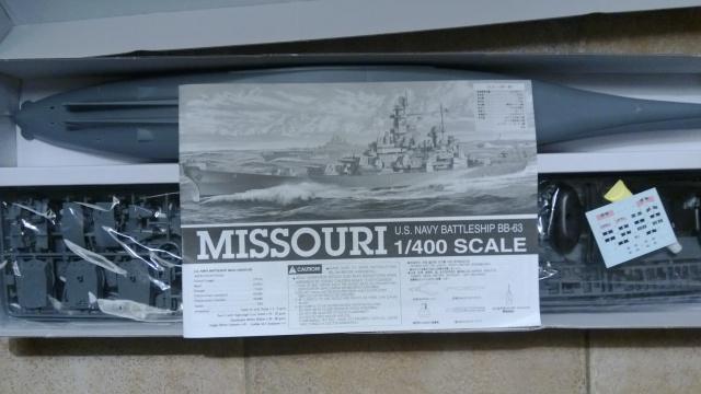 Hapdong BB62 et 63 Missouri et New Jersey 1/400 489953WP20131002002
