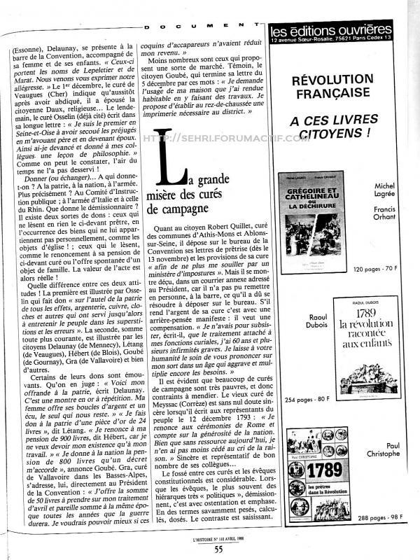 les curés de l'an 2 : article de la revue l'Histoire 490147Sans_titre_Numerisation_13z