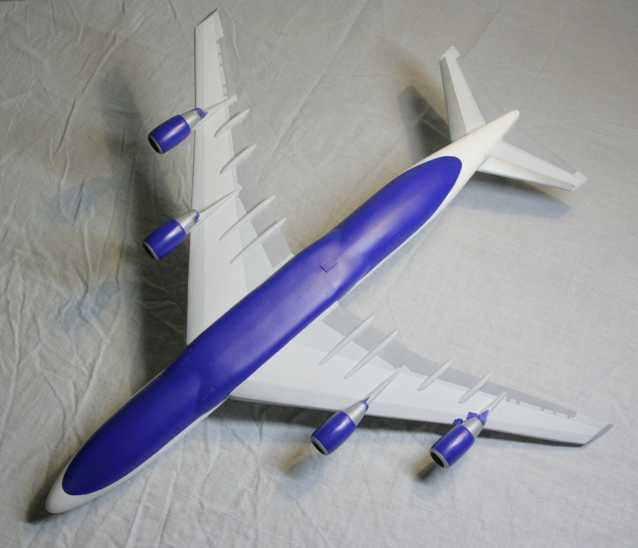 Boeing 747-4F British Airways revell 1/144 490573MG1018