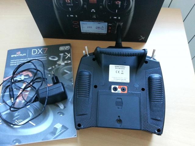 (VENDU)  DX7 SPEKTRUM BLACK EDITION DSMX 49132120161111154646