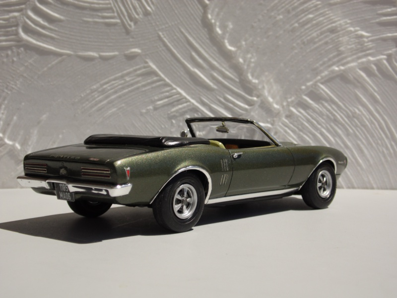 Pontiac Firebird 68 cab. (Fini)  - Page 2 492635SAM3972