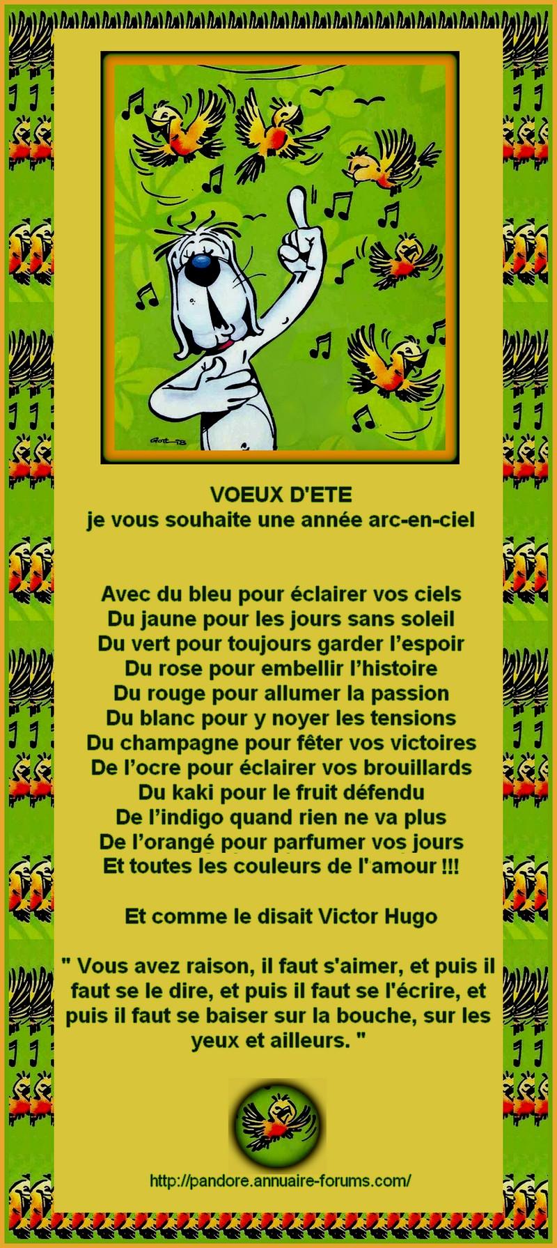 VOEUX D'ETE 4926440HOROSB