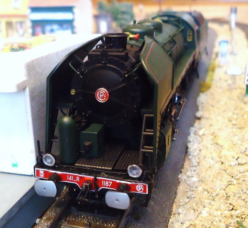 Loco vapeur 141 Jouef 3 rails AC d'origine 494458DSC02373