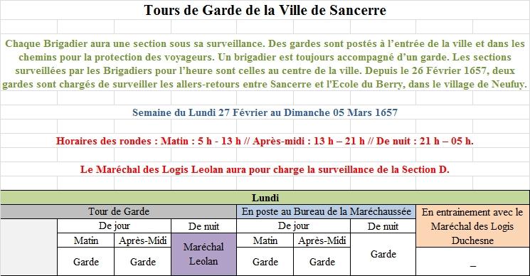 [RP] Plannings des Tours de Gardes de la Ville de Sancerre 4978571Planning