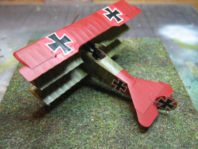 Fokker Dr I 152/17 Rittmeister Manfred von Richthofen [Eduard 1/72] 498392IMG0275