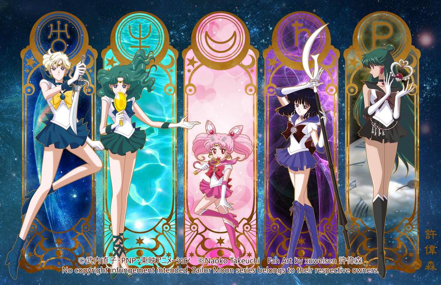 J'adore le manga Sailormoon et vous ?