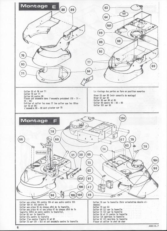 AMX 13 canon de 75 - (Réf. L784) 1/35 504843AMX1375784007Heller135