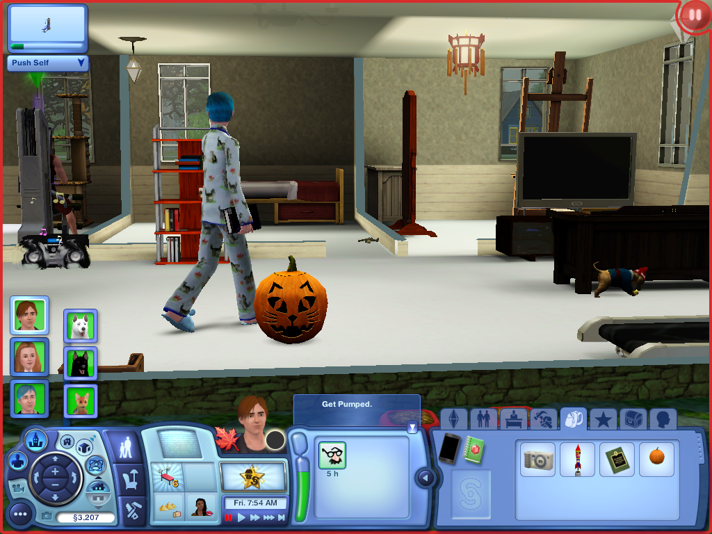 Les Sims ... Avec Kimy ! 504973Citrouillechat