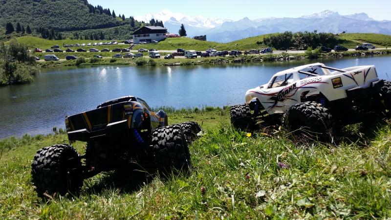 Mes x-maxx en vacances dans les Alpes. 50585320160807123752