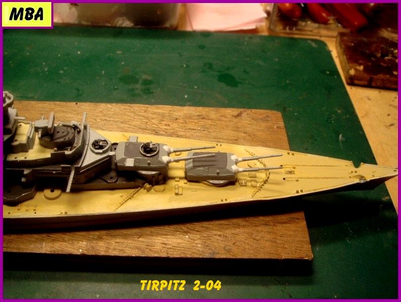 Le TIRPITZ au 1/700ème - DRAGON 508615Tirpitz204