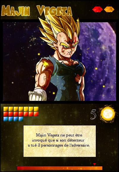 Jeu de cartes RPGDBZ 508655MajinVegetacarteN5