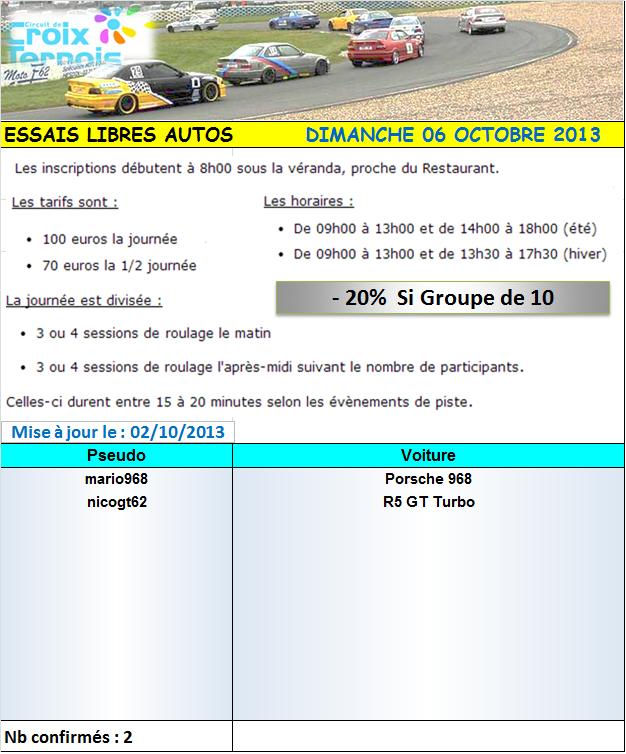 """6 Octobre 2013 - Croix en ternois - """"ESSAIS LIBRES"""". 509096croixle6102013"""