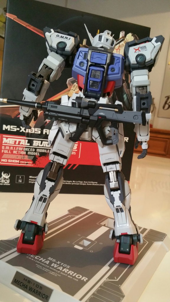 Review/Edito : Strike Gundam Metal Build 1/72 by Moshow la leçon Chinoise donnée a Bandai  510156201610061438551
