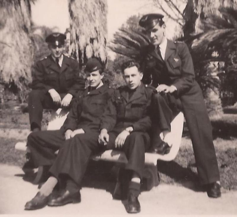 Armée de l'air casquette troupe 29-35 510883ALGER1950