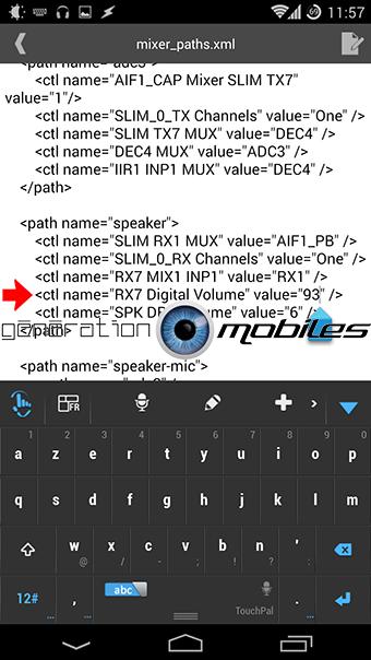 [MOD] Augmenter le volume des écouteurs et haut-parleur : Booster le son ! [10.12.2013] 510985Screenshot20131123115710