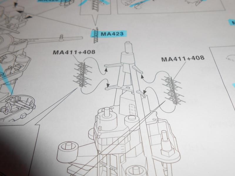 NAGATO 1/350 avec PE, Ponts en bois et babiolles  Hasegawa 511427DSCN6702