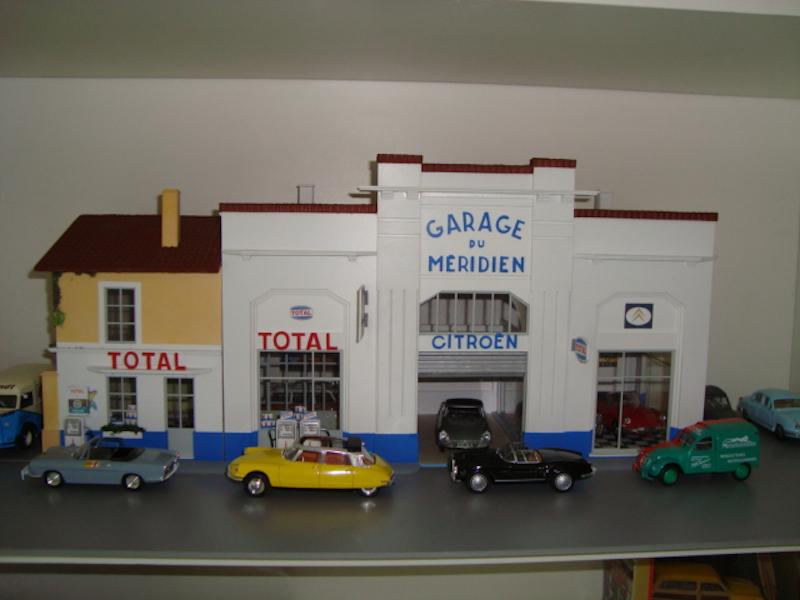 Hervé WAGUET Garages et bâtiments divers miniatures au 1/43 511480725