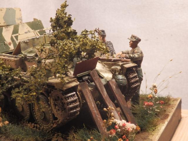 sd.kfz 140 flakpanzer (gépard) maquette Tristar 1/35 - Page 3 512258P8310002