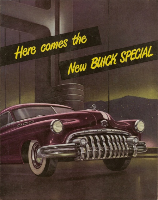 Antique Cars Adverts Revised 514500buick1950special1a