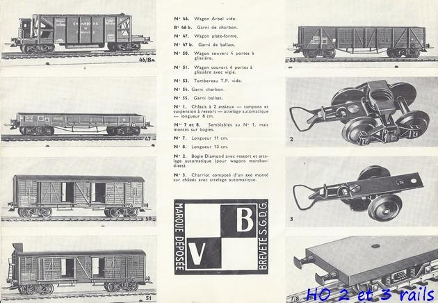 Catalogues 1950 et 1954 couverture photo (extraits) 517378VBcatalogue19505R