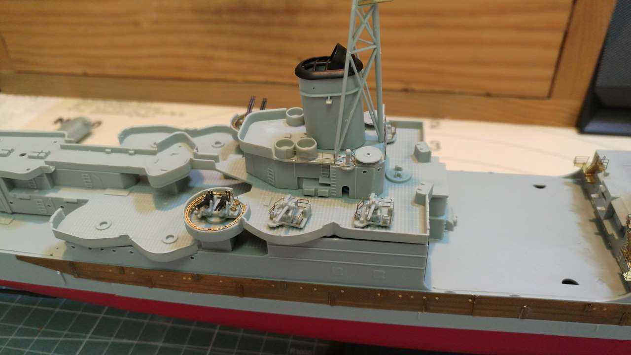 USS Indianapolis 1/350 Academy - 1945 - Page 5 518837Indianapolis56