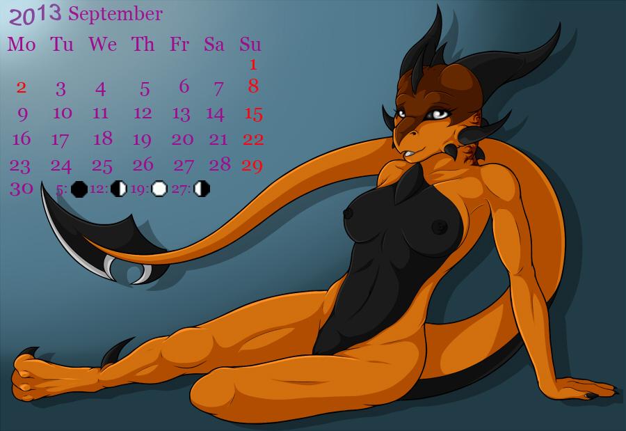 Furry Calendar 2013 519940September