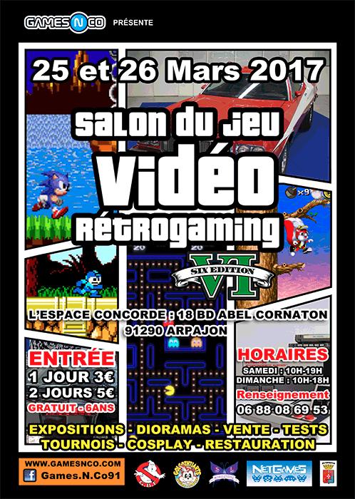 [91] Salon du jeu vidéo rétrogaming 6eme édition - Arpajon 52059317030610