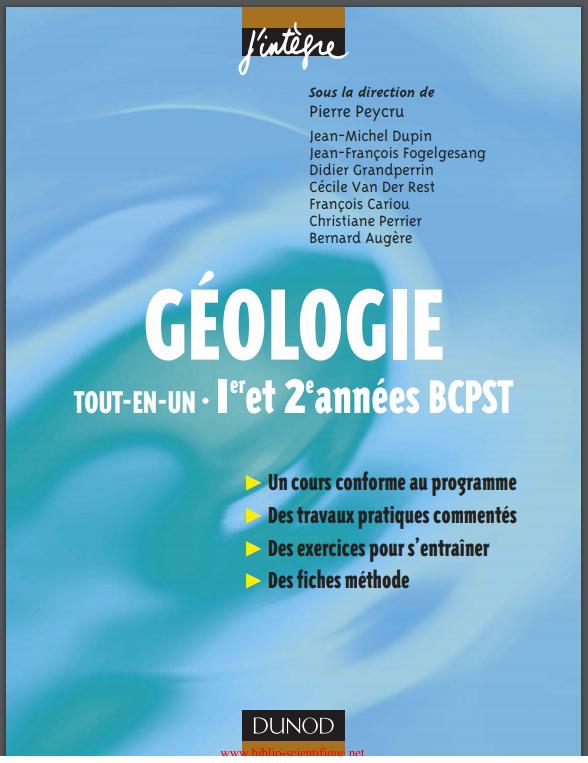 GÉOLOGIE TOUT-EN-UN  • L1 et L2 522989fefe