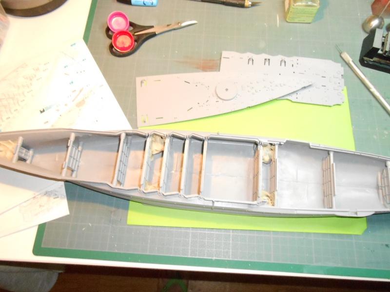 NAGATO Hasegawa 1/350- PE- Ponts en bois 525735DSCN6435